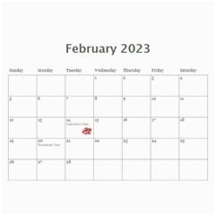 2015 Calendar By Kim Blair   Wall Calendar 11  X 8 5  (12 Months)   Bpuzhv1imyda   Www Artscow Com Feb 2015