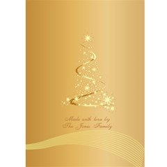 Merry Christmas 5x7 Card 1 By Deborah   Greeting Card 5  X 7    52mv23oupmjo   Www Artscow Com Back Cover