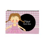 Pink Girl cosmetic Bag large - Cosmetic Bag (Large)