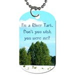river tarts - Dog Tag (One Side)