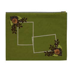 Cosmetic Bag (xl)   Moss Green Dreams By Jennyl   Cosmetic Bag (xl)   Itmamt9dsiwh   Www Artscow Com Back