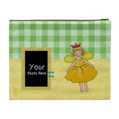 Fairy Cosmetic Bag Xl By Lillyskite   Cosmetic Bag (xl)   Z7bgb6q5lwj7   Www Artscow Com Back