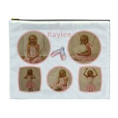 Kaylee By Melissa   Cosmetic Bag (xl)   Q1ol0yffa8ce   Www Artscow Com Front