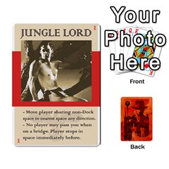 Indiana Jones Fireball Card Set 02 By German R  Gomez   Playing Cards 54 Designs   A75s73sj4lad   Www Artscow Com Front - Joker2