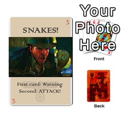 Indiana Jones Fireball Card Set 03 By German R  Gomez   Playing Cards 54 Designs   W9t1xzn1ra8s   Www Artscow Com Front - Heart8