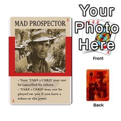 Jack Indiana Jones Fireball Card Set 03 By German R  Gomez   Playing Cards 54 Designs   W9t1xzn1ra8s   Www Artscow Com Front - DiamondJ