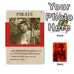 Jack Indiana Jones Fireball Card Set 03 By German R  Gomez   Playing Cards 54 Designs   W9t1xzn1ra8s   Www Artscow Com Front - ClubJ