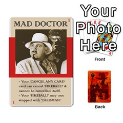 Queen Indiana Jones Fireball Card Set 03 By German R  Gomez   Playing Cards 54 Designs   W9t1xzn1ra8s   Www Artscow Com Front - ClubQ