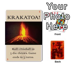 Indiana Jones Fireball Card Set 03 By German R  Gomez   Playing Cards 54 Designs   W9t1xzn1ra8s   Www Artscow Com Front - Joker1