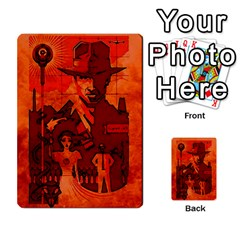 Indiana Jones Fireball Card Set 04 By German R  Gomez   Playing Cards 54 Designs   32z5rhtvoi0d   Www Artscow Com Back