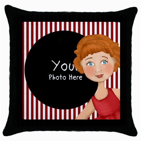 Throw Pillow By Lillyskite   Throw Pillow Case (black)   4inwbrk3sa6g   Www Artscow Com Front