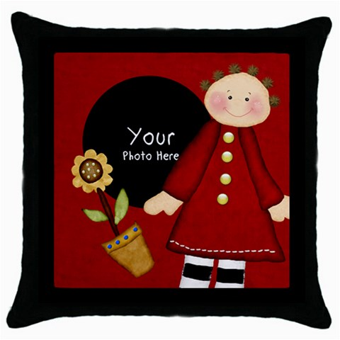 throw Pillow by Lillyskite Front