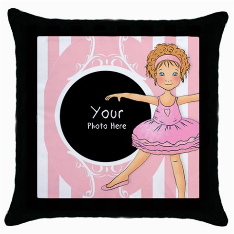 Throw Pillow By Lillyskite   Throw Pillow Case (black)   Wgu2yzp5wfv4   Www Artscow Com Front