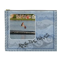 Ride The Waves Xl Cosmetic Bag By Lil    Cosmetic Bag (xl)   Bstjgn3g9x3x   Www Artscow Com Front