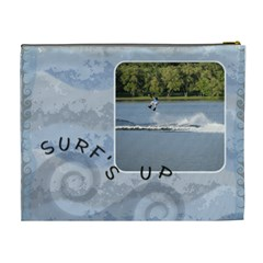 Ride The Waves Xl Cosmetic Bag By Lil    Cosmetic Bag (xl)   Bstjgn3g9x3x   Www Artscow Com Back