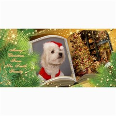 Merry Christmas 4x8 Photo Card No1 By Deborah   4  X 8  Photo Cards   Tdmbf5apn11i   Www Artscow Com 8 x4 Photo Card - 1