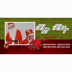 4  X 8  Photo Cards: Happy Holidays By Jennyl   4  X 8  Photo Cards   9fj49xzkusuf   Www Artscow Com 8 x4 Photo Card - 5
