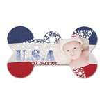 USA - Dog Tag Bone (One Side)