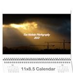 2012/13 Calendar - Wall Calendar 11  x 8.5  (18 Months)