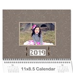 Calendar: All Gray - Wall Calendar 11 x 8.5 (12-Months)