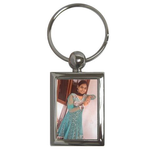 Keychain By Anusha   Key Chain (rectangle)   Ppj8y7g86qmi   Www Artscow Com Front