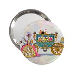 Marie And Carriage W Cakes  Squared Copy 2.25  Handbag Mirror