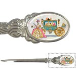 Marie And Carriage W Cakes  Squared Copy Letter Opener