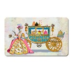 Marie And Carriage W Cakes  Squared Copy Magnet (Rectangular)