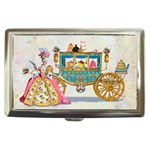 Marie And Carriage W Cakes  Squared Copy Cigarette Money Case