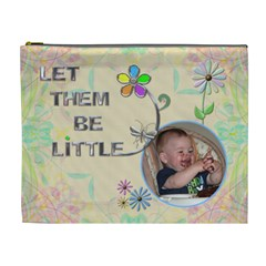 Let Them Be Little Xl Cosmetic Bag By Lil    Cosmetic Bag (xl)   Yaoph177mop2   Www Artscow Com Front