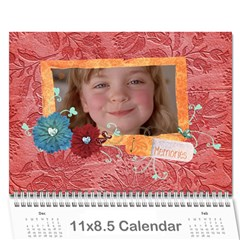 Family/together  Photo Calendar (12 Months) By Mikki   Wall Calendar 11  X 8 5  (12 Months)   6bi74vl9zr9f   Www Artscow Com Cover