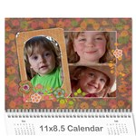 Shabby Chic/Flowers/Mother-Photo 2015 Calendar (12 months) - Wall Calendar 11  x 8.5  (12-Months)