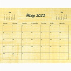 Sunflowers/family Photo 2015 Calendar (12 Months) By Mikki   Wall Calendar 11  X 8 5  (12 Months)   9wq0orgx6y9p   Www Artscow Com May 2015