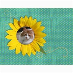 Sunflowers/family Photo 2015 Calendar (12 Months) By Mikki   Wall Calendar 11  X 8 5  (12 Months)   9wq0orgx6y9p   Www Artscow Com Month