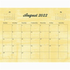 Sunflowers/family Photo 2015 Calendar (12 Months) By Mikki   Wall Calendar 11  X 8 5  (12 Months)   9wq0orgx6y9p   Www Artscow Com Aug 2015