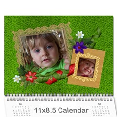 Berry Much/love  Photo 2015 Calendar (12 Months) By Mikki   Wall Calendar 11  X 8 5  (12 Months)   3iqsp891i2di   Www Artscow Com Cover