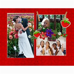 Berry Much/love  Photo 2015 Calendar (12 Months) By Mikki   Wall Calendar 11  X 8 5  (12 Months)   3iqsp891i2di   Www Artscow Com Month
