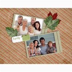 Flowers/family/love Photo 2015 Calendar (12 Months) By Mikki   Wall Calendar 11  X 8 5  (12 Months)   9lw3ksqwwp4m   Www Artscow Com Month