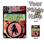Zaibatsu Colour Action A - Multi-purpose Cards (Rectangle)