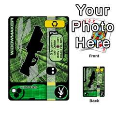 Zaibatsu Colour Action A By Donald Macdonald   Multi Purpose Cards (rectangle)   S84ob6l43hcf   Www Artscow Com Front 11