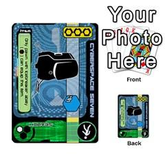 Zaibatsu Colour Action A By Donald Macdonald   Multi Purpose Cards (rectangle)   S84ob6l43hcf   Www Artscow Com Front 21