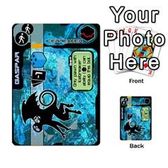 Zaibatsu Colour Action A By Donald Macdonald   Multi Purpose Cards (rectangle)   S84ob6l43hcf   Www Artscow Com Front 4