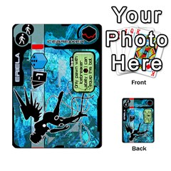 Zaibatsu Colour Action A By Donald Macdonald   Multi Purpose Cards (rectangle)   S84ob6l43hcf   Www Artscow Com Front 5