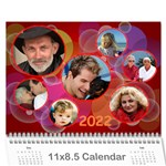 Bubbles 2013 (any Year) Calendar - Wall Calendar 11 x 8.5 (12-Months)