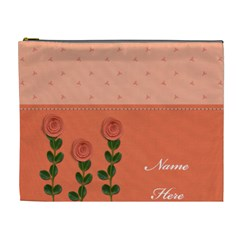 Cosmetic Bag (xl)   Peachy Dreams By Jennyl   Cosmetic Bag (xl)   Hpln60xr5qre   Www Artscow Com Front