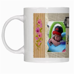 Vacation Mug By Lil    White Mug   A3hoedepcal6   Www Artscow Com Left