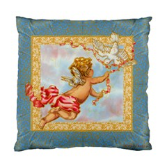 Angel Baby Pillow with Dove Cushion Case (Two Sides) by Greerdesigns