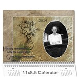 2013 Family Tree Calendar (12 Month) - Wall Calendar 11 x 8.5 (18 Months)
