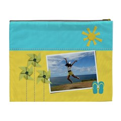 Cosmetic Bag (xl)  Summer Days By Jennyl   Cosmetic Bag (xl)   R2awe8s1vosg   Www Artscow Com Back