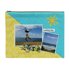 Cosmetic Bag (xl)  Outdoor Fun By Jennyl   Cosmetic Bag (xl)   D4c15wgwpo54   Www Artscow Com Front